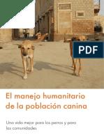 Manejo Humanitario de La Población Canina