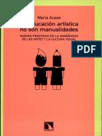 La educacion artistica no son manualidades.pdf