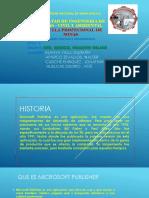 Presentacion de Publisher