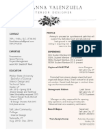 design resume summer 2016