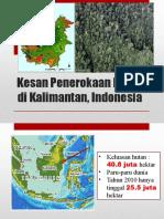 Kesan Penerokaan Hutan di Kalimantan, Indonesia.pptx