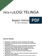 Histologi - Telinga (Blok 6)