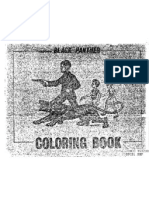 """COINTELPRO """"Black Panther Coloring Book"""" used to confuse the masses"""