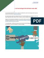 20170403 Aplicaciones de La Tecnología Blockchain Más Allá Del Bitcoin