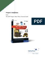 SAP Project Templates