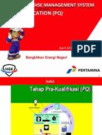 CSMS Pra Qualifiction