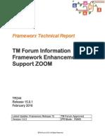 TR244 TMF Inform Framework Enhance ZOOM R15.0.1