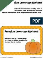 Pumpkinlowercase Colored