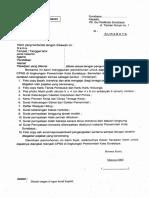 Contoh Format Formulir