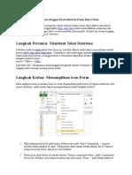 Cara Membuat Database dengan Excel disertai Form Entri Data.docx