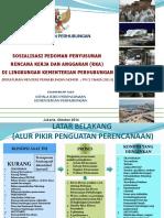 Pedoman Penyusunan Rencana Kerja Dan Anggaran (Rka) Di Lingkungan Kementerian Perhubungan (1).pptx