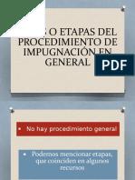 FASES O ETAPAS DEL PROCEDIMIENTO DE IMPUGNACIÓN EN.pptx
