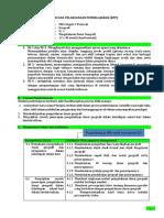 RPP. 3.1. Pengetahuan Dasar Geografi.docx