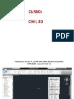 Clases de Civil3d