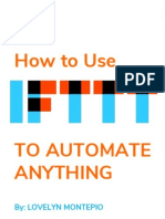 How to Use IFTTT to Automate Anything