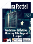 Frodsham Panna Football Summer 2017
