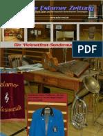 Die Erste Eslarner Zeitung, Heimatfest-Sonderausgabe