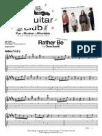 Rather Be - Clean Bandit (Melody).pdf
