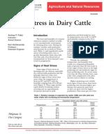 Heat Stress Indairy Cattle