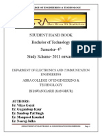 Ece 6 Th Student Handbook