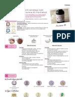 Actif Cosmétique Provitamine B5 (Panthénol)