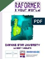 Bdv5056 - Terraformer 06 - Dawning Star University