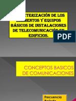 1 Caracterización de Los Elementos y Equipos Básicos de Instalaciones de Telecomunicación en Edificios.