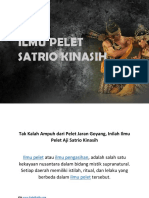Ilmu Pelet Kuno, Pelet Pemikat Aji Satrio Kinasih