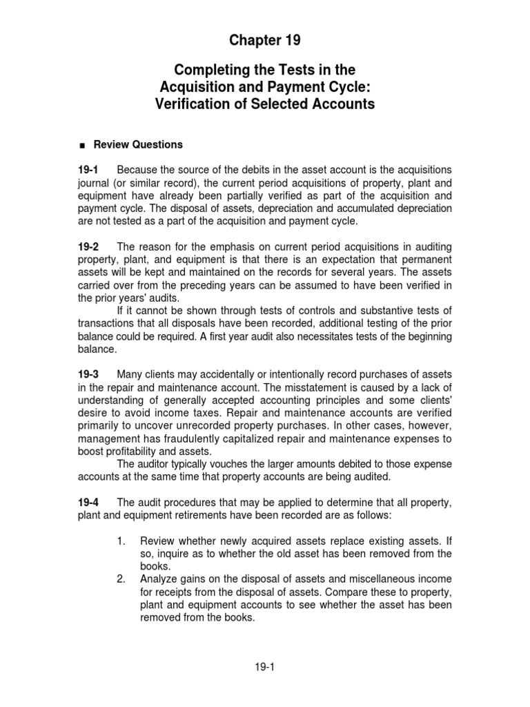 Solution manual auditing and assurance services 13e by arens chapter solution manual auditing and assurance services 13e by arens chapter 19 depreciation audit fandeluxe Image collections