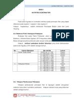 BAB III. 3.1 Laporan Kegiatan Konsultan (AGT 2015)