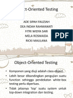 Object-Oriented Testing BARU