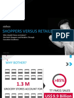 TraditionalTrade Shoppers vs Retailers