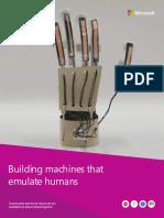 hs building machines that emulate humans