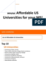 US universities for your master degrees