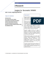 Pyramid Research Operator Strategies for Successful Wimax Services Deployment