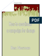 How to Coordinate a Campaign