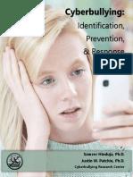 cyberbullying pamphlet