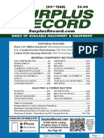 August 2017 Surplus Record Machinery & Equipment Directory