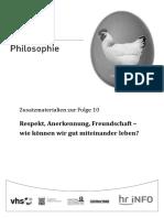 Hr Funkkolleg Philosophie 10