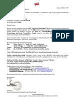 Surat Penawaran Pembekalan & Pemenuhan Uji Kompetensi POP JATENG 5-9 April 2017