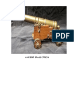 Ancient Brass Canon