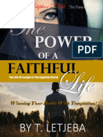 The-Power-Of-Faithful Life by T Letjeba