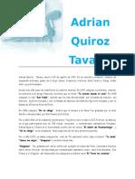 Adrian Quiroz Tavara y Agusti Alvaradso