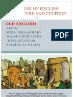 Histori of English Literature and Culture