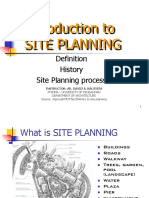 1. Intro to Site Devt. Planning
