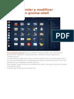 Control Del Gnome Shell 3