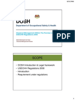Dosh - Chemical Management