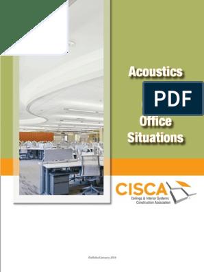 Acoustics In Open Office Decibel Sound