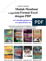 Script PHP Membuat Report Format Data Ms.Excel