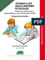Curso 56 Manual FF Como Ayudar a Los Hijos a Obtener Exito Escolar Manual Del Monitor